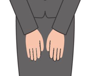 手の位置1