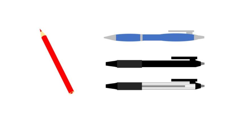 チェック用のペン